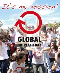 Share the Gospel - Global Outreach Day - May 27th 2017