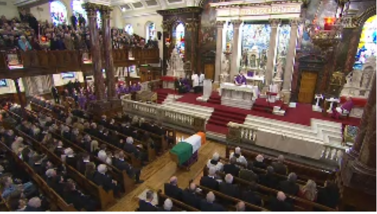Homily of Fr Michael Canny at the Funeral Mass of Martin McGuinness