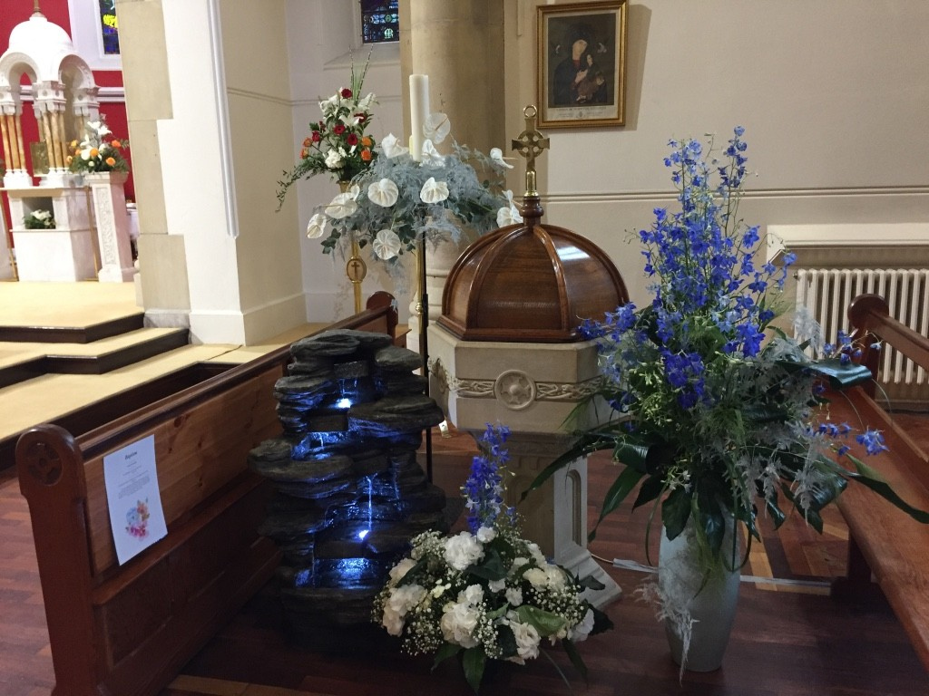 Three Patrons - Flower Festival and Opening of the 'Emmaus' Meeting Room