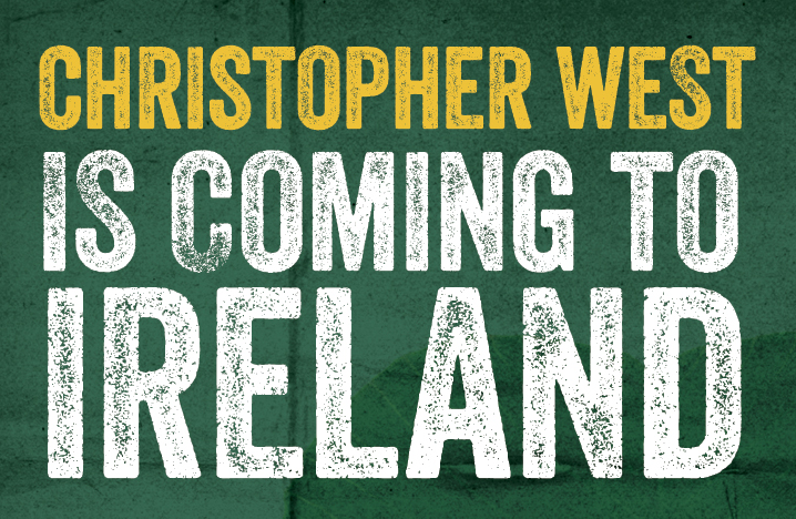 Christopher West is coming to Ireland!