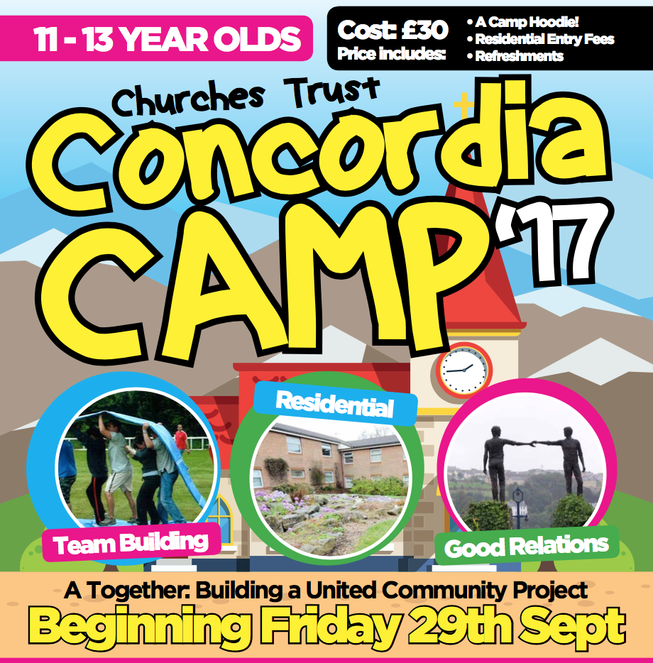 'Concordia' - A T:BUC Camp for 11–13 year olds - Churches Trust
