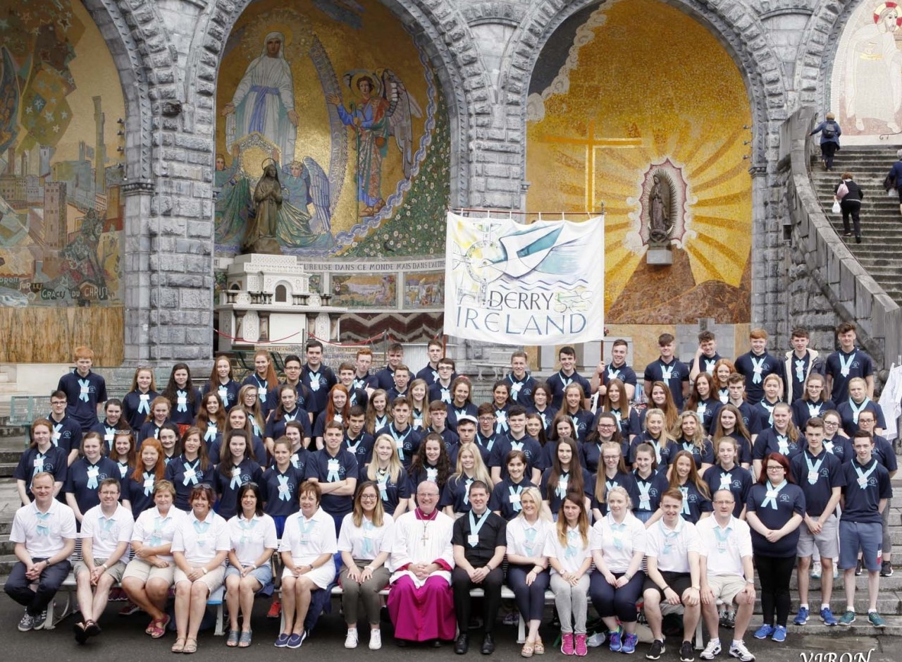 Lourdes Youth Team 2018 - Apply now to go with the Derry Diocese Pilgrimage - 1st to 6th July 2018