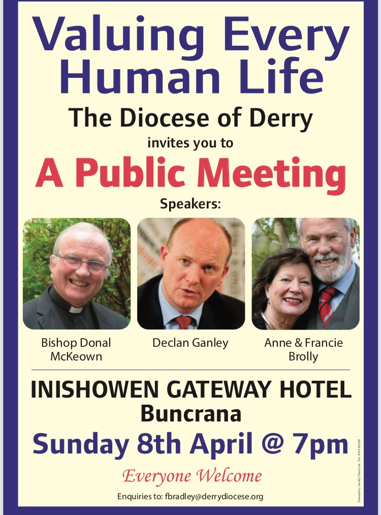 Valuing Every Human Life - Public Meeting - Buncrana
