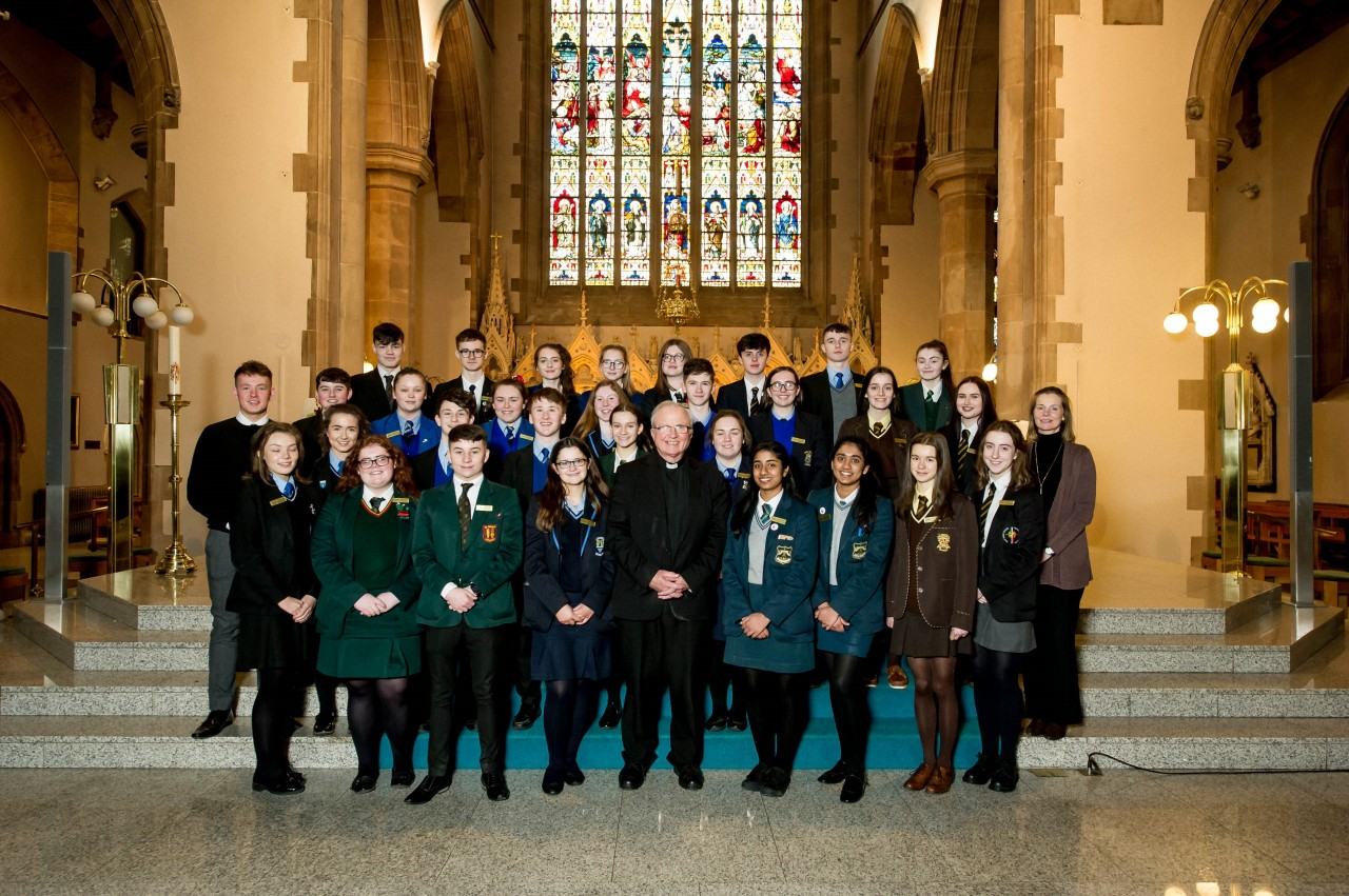 Young Diocesan Ambassadors commissioned by Bishop Donal - Wednesday 13th February 2019