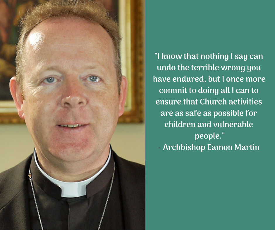Archbishop Eamon Martin offers message to survivors of abuse ahead of Vatican meeting for the protection of minors