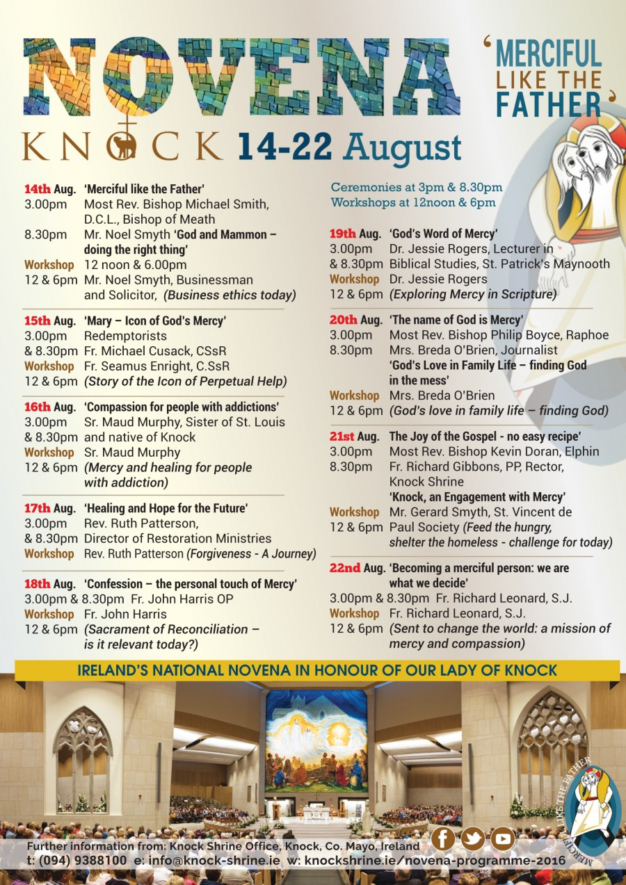 Knock National Novena 2016