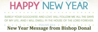New Year Message from Bishop Donal