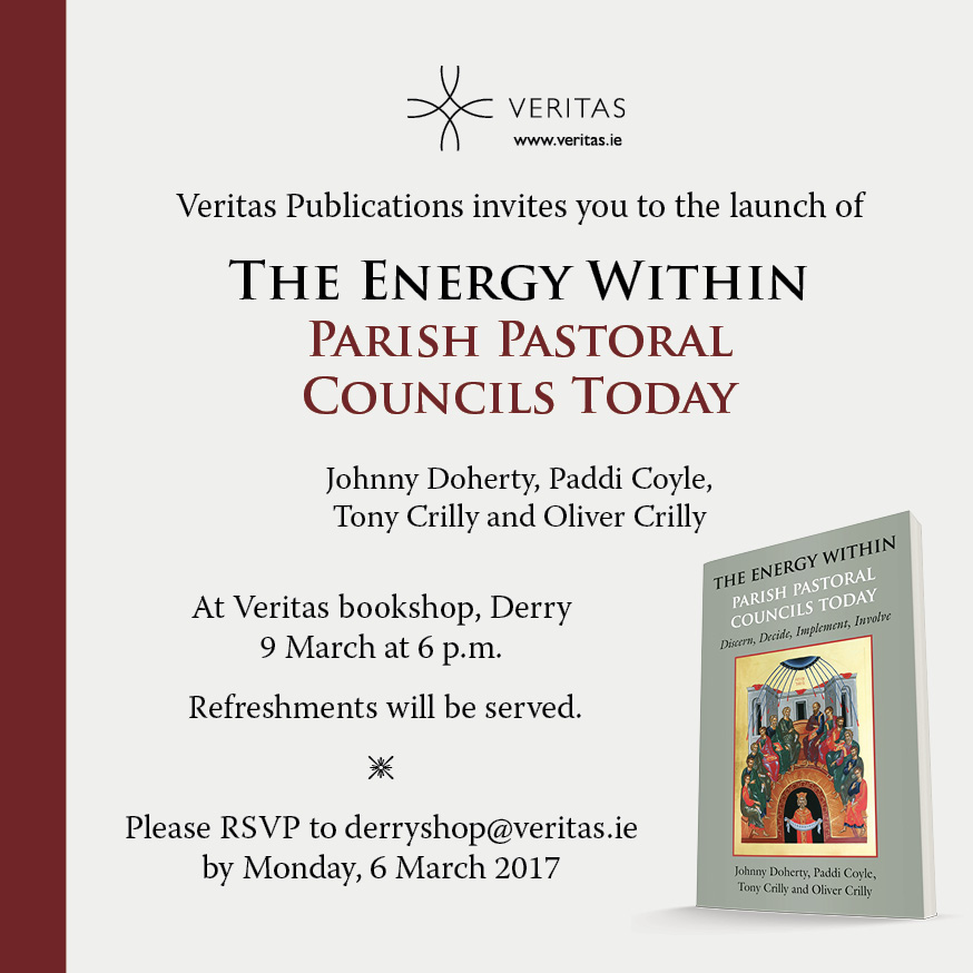 'The Energy Within' - Book Launch at Veritas Derry