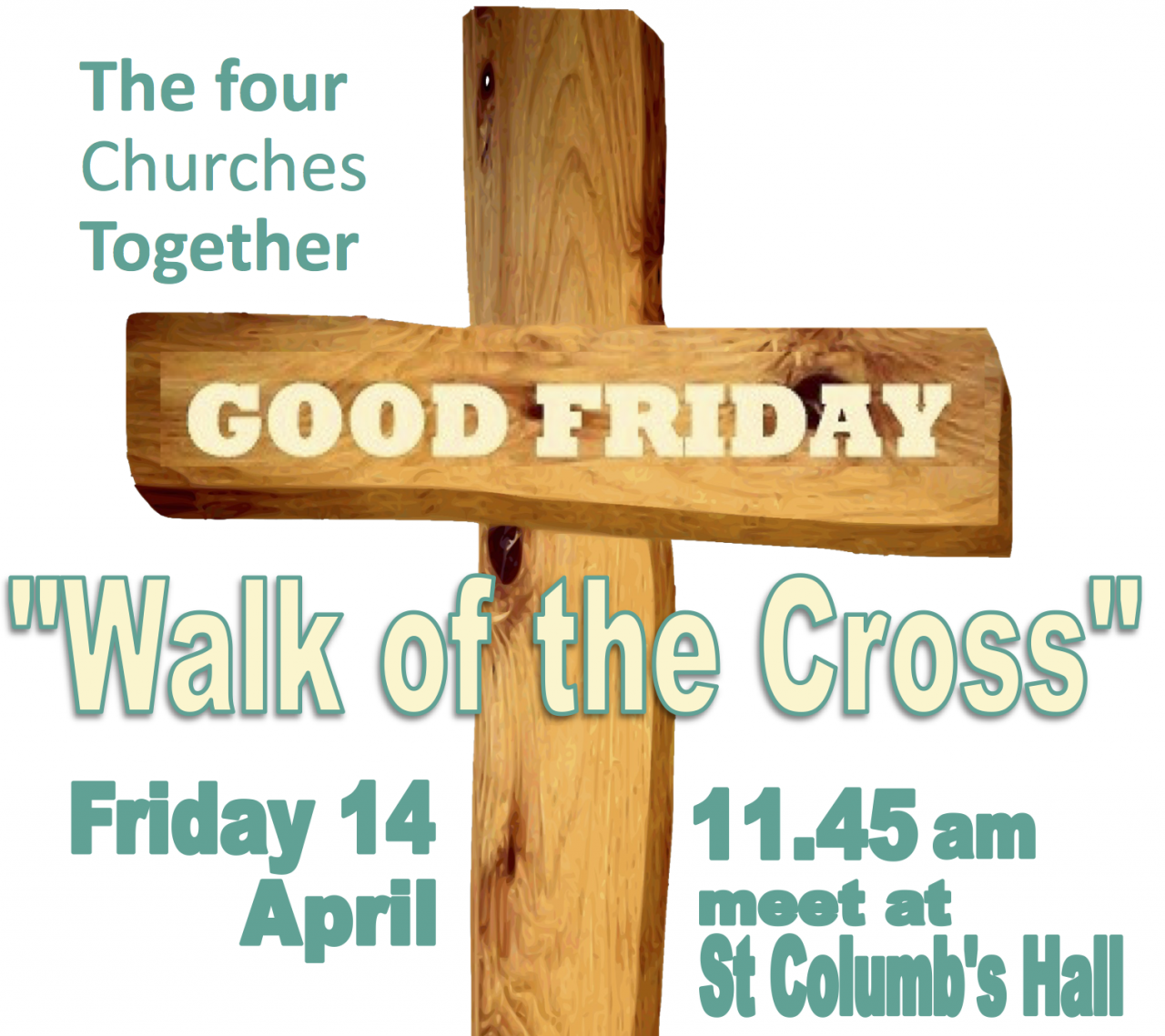 Walk of the Cross - Good Friday - Derry - 4 Churches Together
