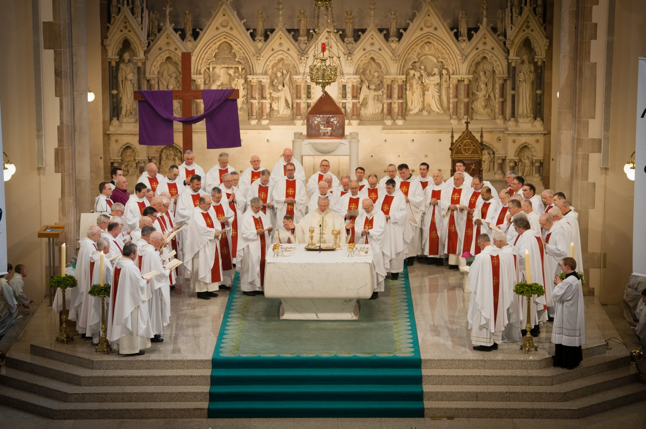 Mass of Chrism - St Eugene's Cathedral - 10am - Holy Thursday