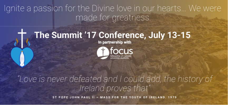 "Register Now for ""The Summit '17"" - July 13-15 2017"
