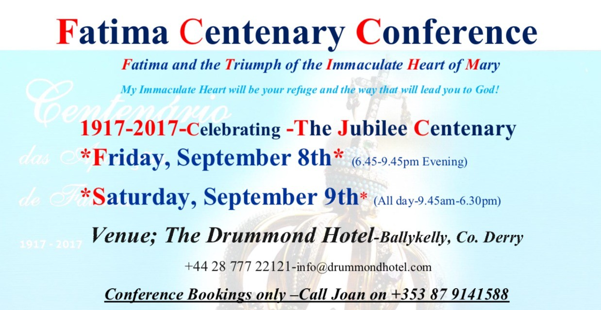 Fatima Conference for Derry