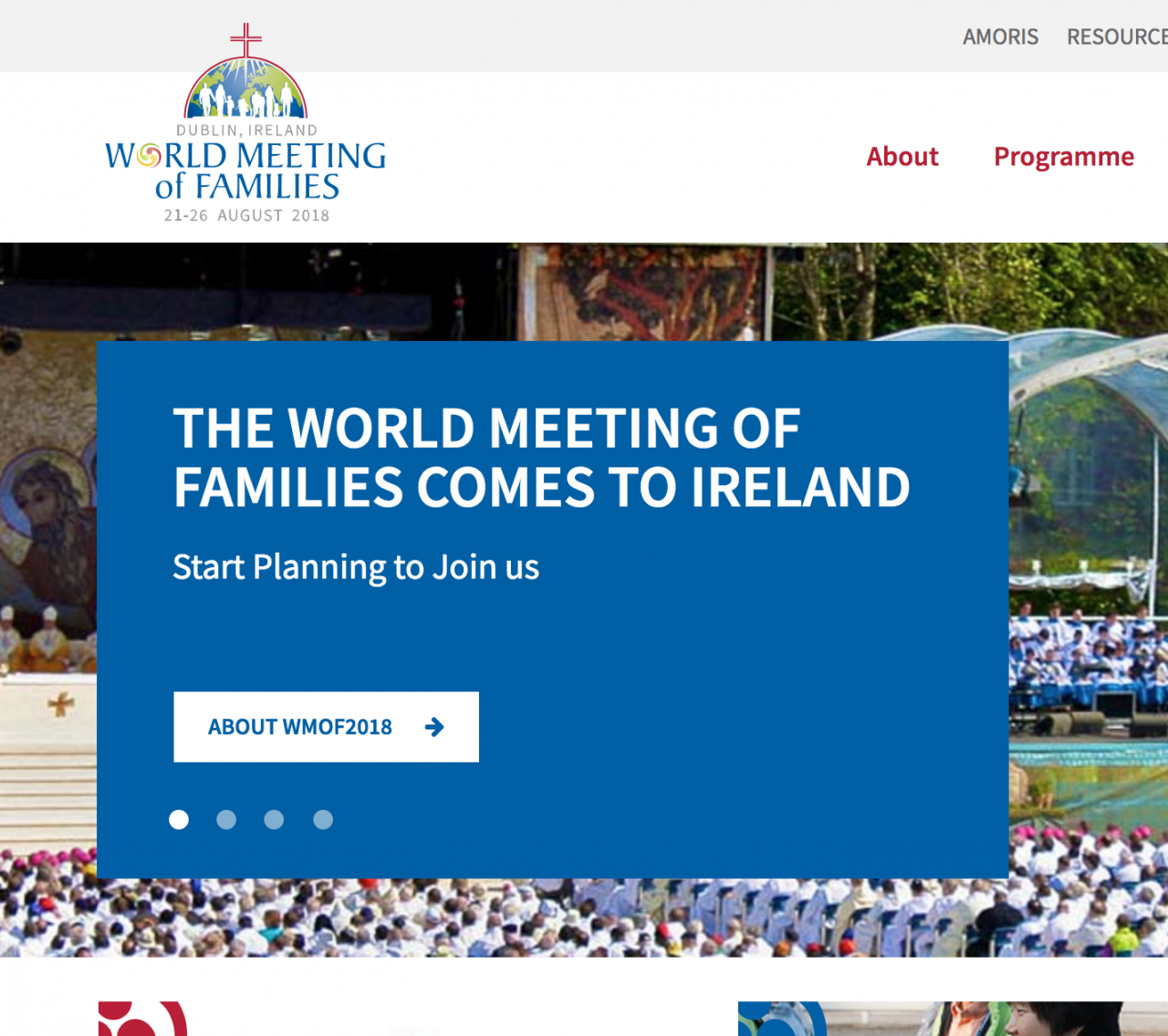 Register now for the World Meeting of Families 2018 on new website...