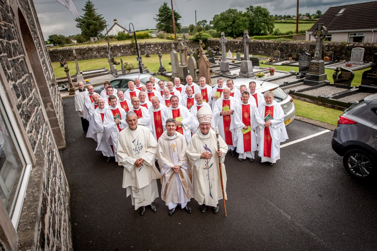 Ordination to Priesthood of Rev Malachy Gallagher - Homily - Bishop Donal McKeown - St Mary's, Drumagarner, Kilrea - Sunday 30th July 2017