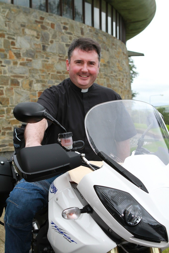 Blessing of Bikes and Bikers - St Aengus' Church - Burt - Sunday 3rd September 2017