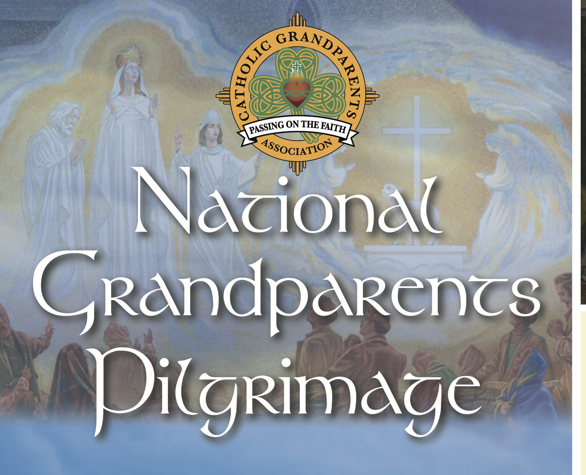 GRANDPARENTS' PILGRIMAGE 2017 to Knock Shrine -
