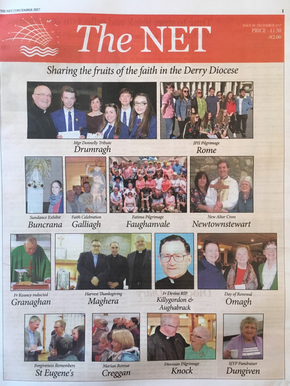 'The Net' - News from around the Diocese - December 2017 Edition out now...
