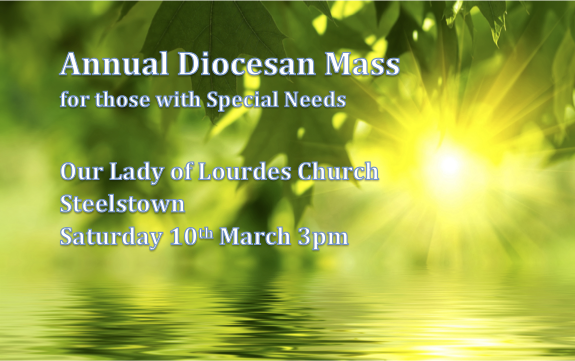 Special Diocesan Confirmation and First Communion Mass - Saturday 10th March 2018 - Steelstown