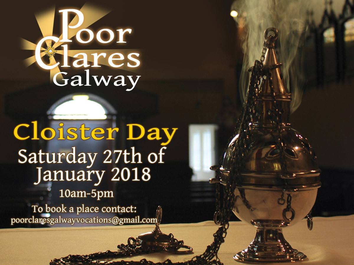 Poor Clares Vocations Day - Galway - 27th January 2018