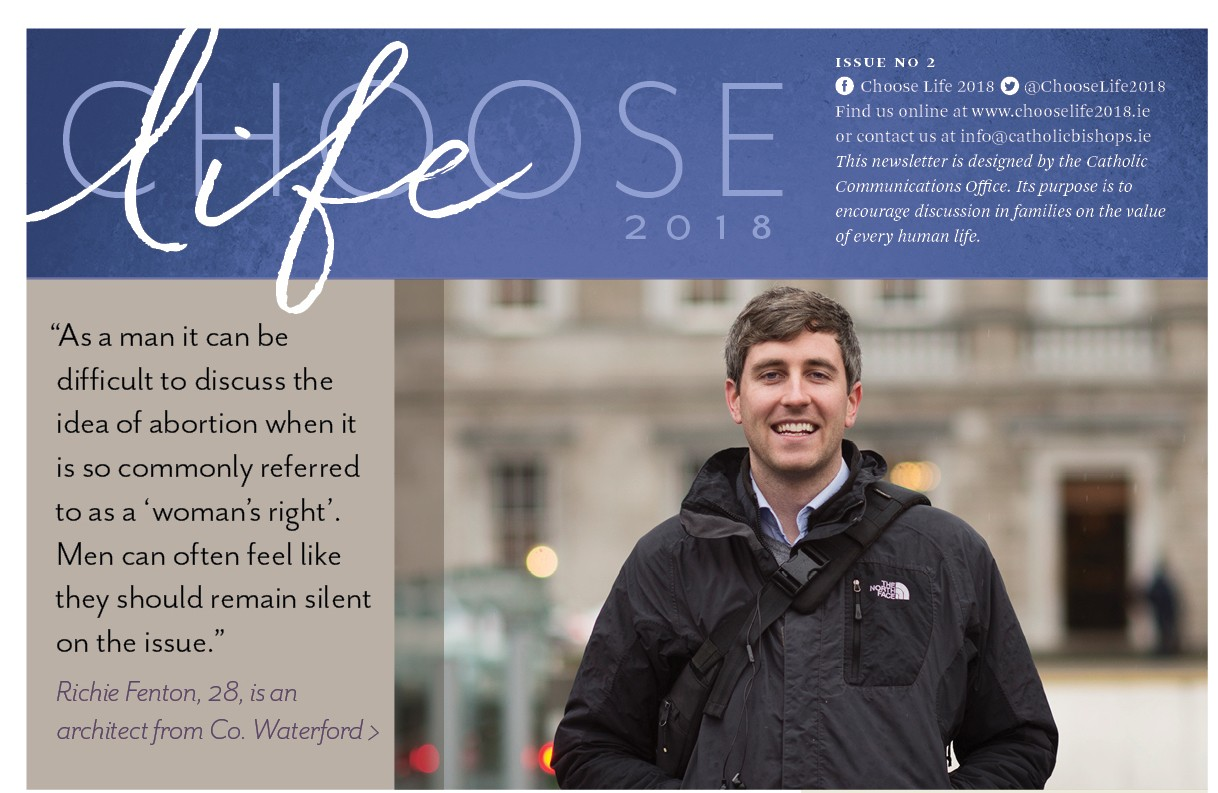 ​Choose life 2018 - Newsletter #2 - Is a view on abortion solely a question of religious belief?