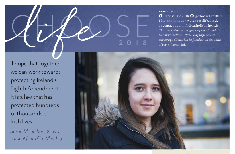Choose Life - Issue 3 - Sarah's Story and Answers to Questions on Life of the Unborn