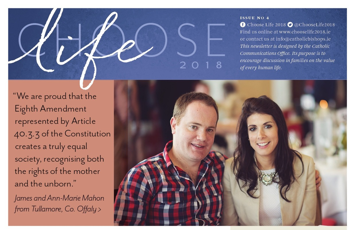 Choose Life 4 - James and Ann Marie's Story and Reasons to retain the 8th Amendment