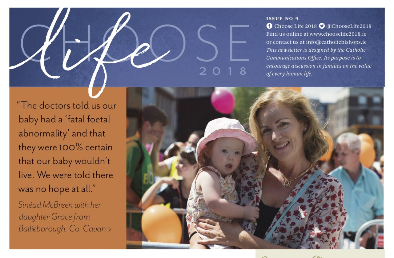 Choose Life Issue 9 - The McBreen's Story...