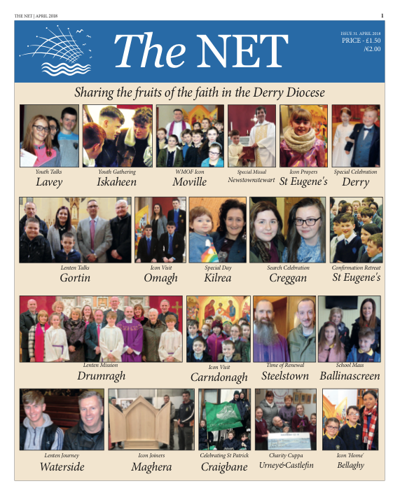 The Net - April edition out now...