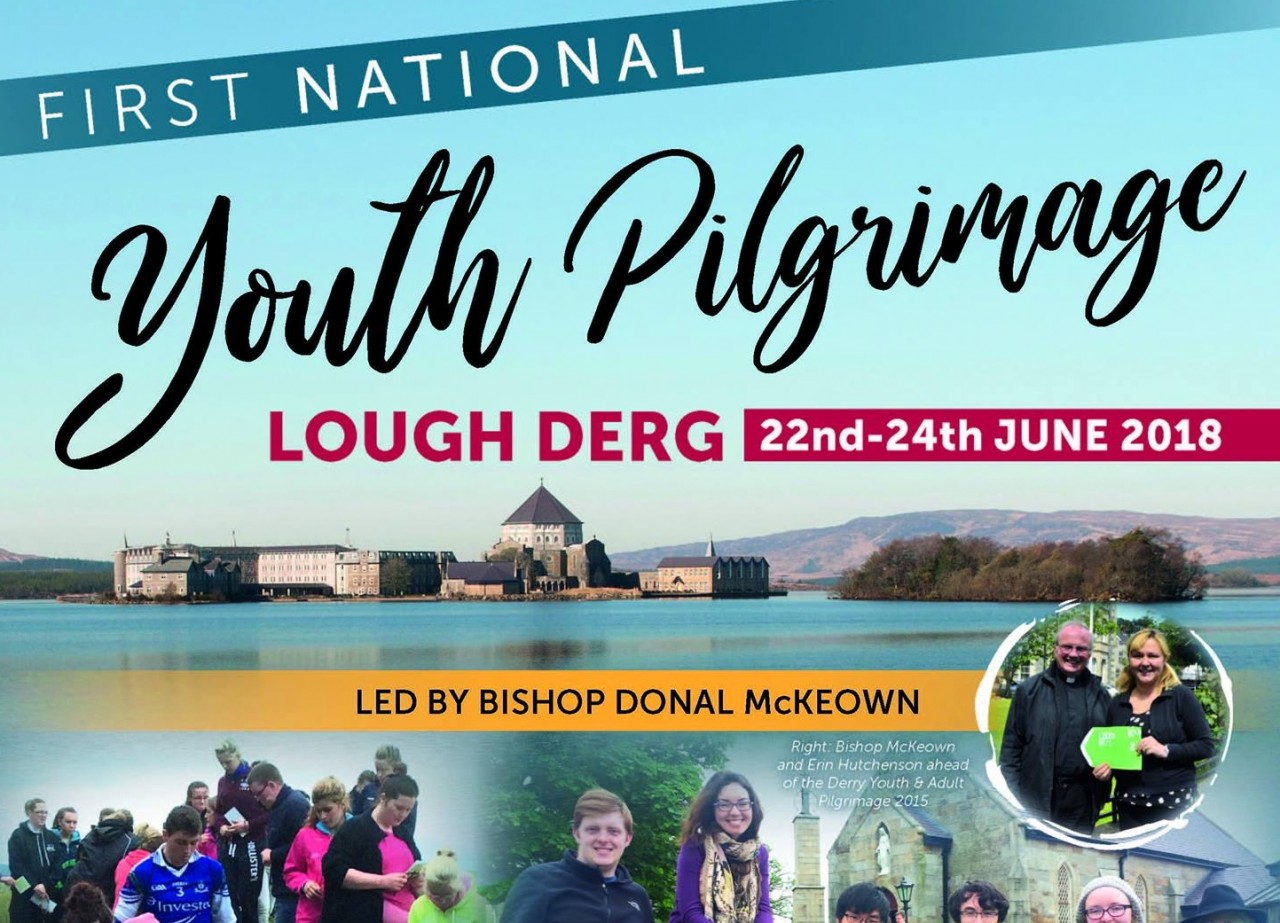 Bishop Donal to lead first National Youth Pilgrimage to Lough Derg - 22-24 June 2018