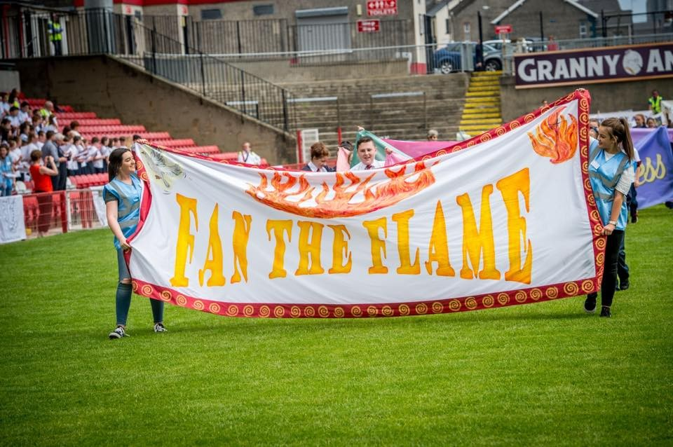 Fan the Flame 2018 - 2,700 young people gather for Mass in Derry GAA's Celtic Park - Gallery