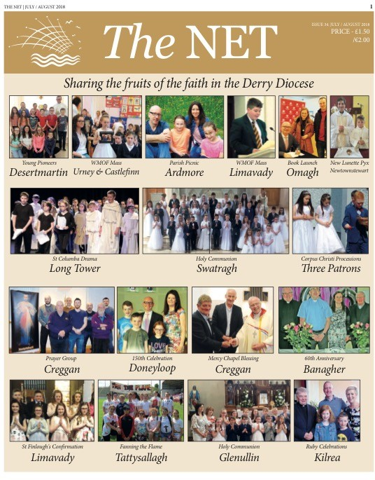 'The Net'  - Events and News from around the Diocese - July/August 2018 edition
