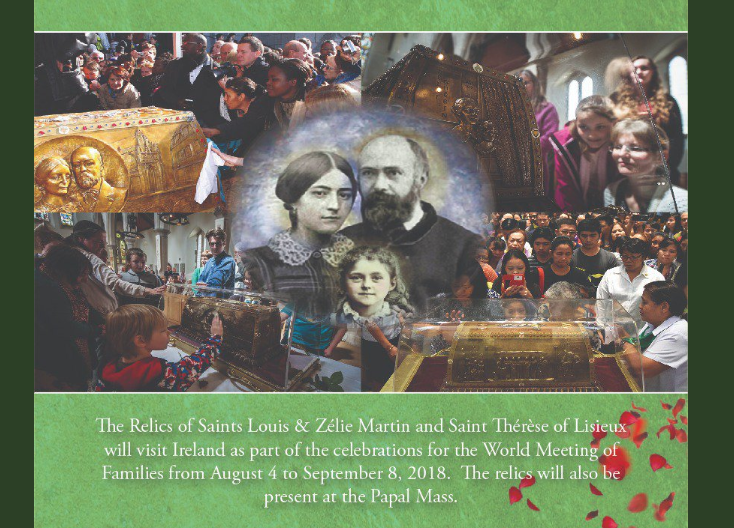 The Relics of St Thérèse and her Parents - St Eugene's Cathedral, Derry - 14th August 2018