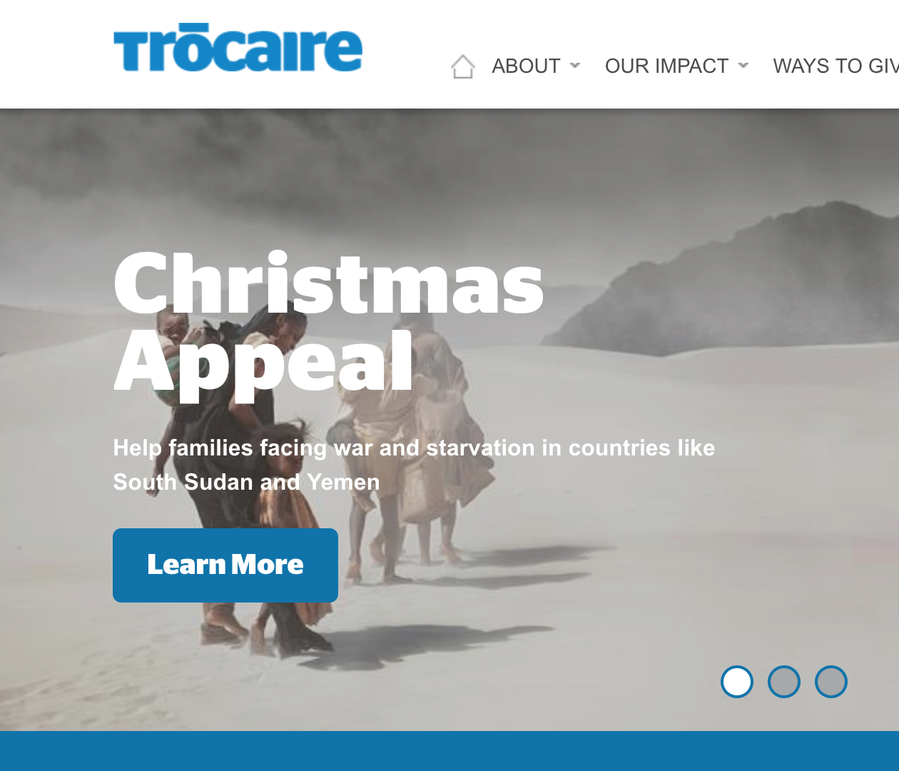 Trócaire Christmas Appeal 2018 - Helping South Sudan and Yemen rebuild their lives...