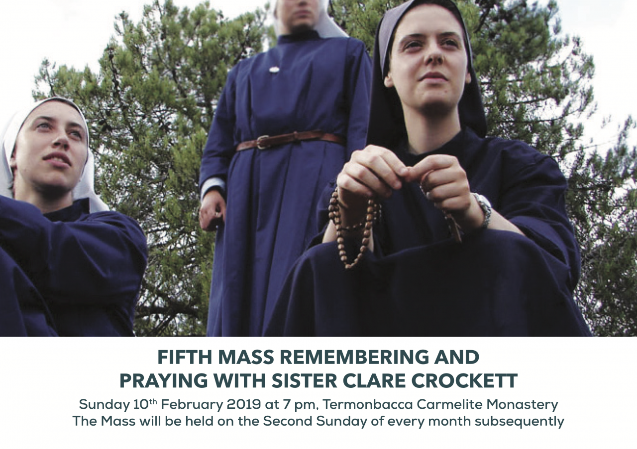 Sr Clare Crockett Mass in Termonbacca - Sunday 10th February 2019