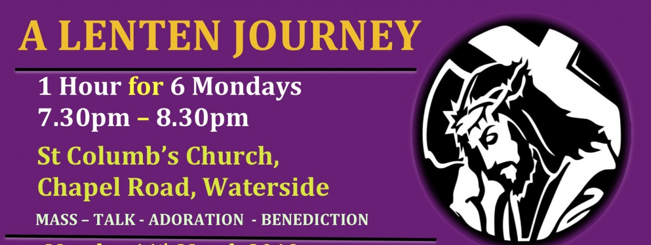 Waterside host Lenten Mondays Retreat 11th March - 15th April 2019