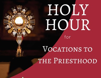 Holy Hour for Vocations - St Eugene's Cathedral - Thursday 6th June 2019 - 8pm