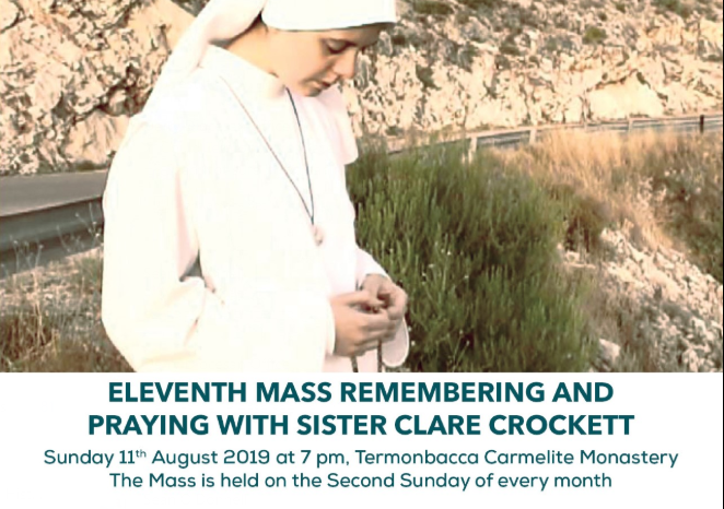 Sr Clare Mass at Temonbacca - Sun 11th August 2019